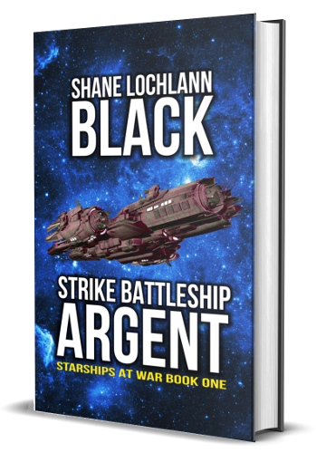 Strike Battleship Argent by Shane Lochlann Black