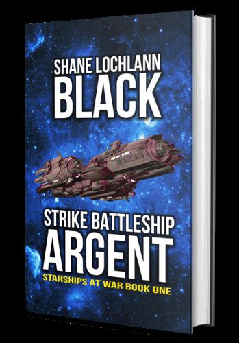 Strike Battleship Argent by Shane Lochlann Black